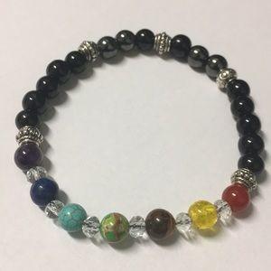 Chakra Healing Stone Bracelet